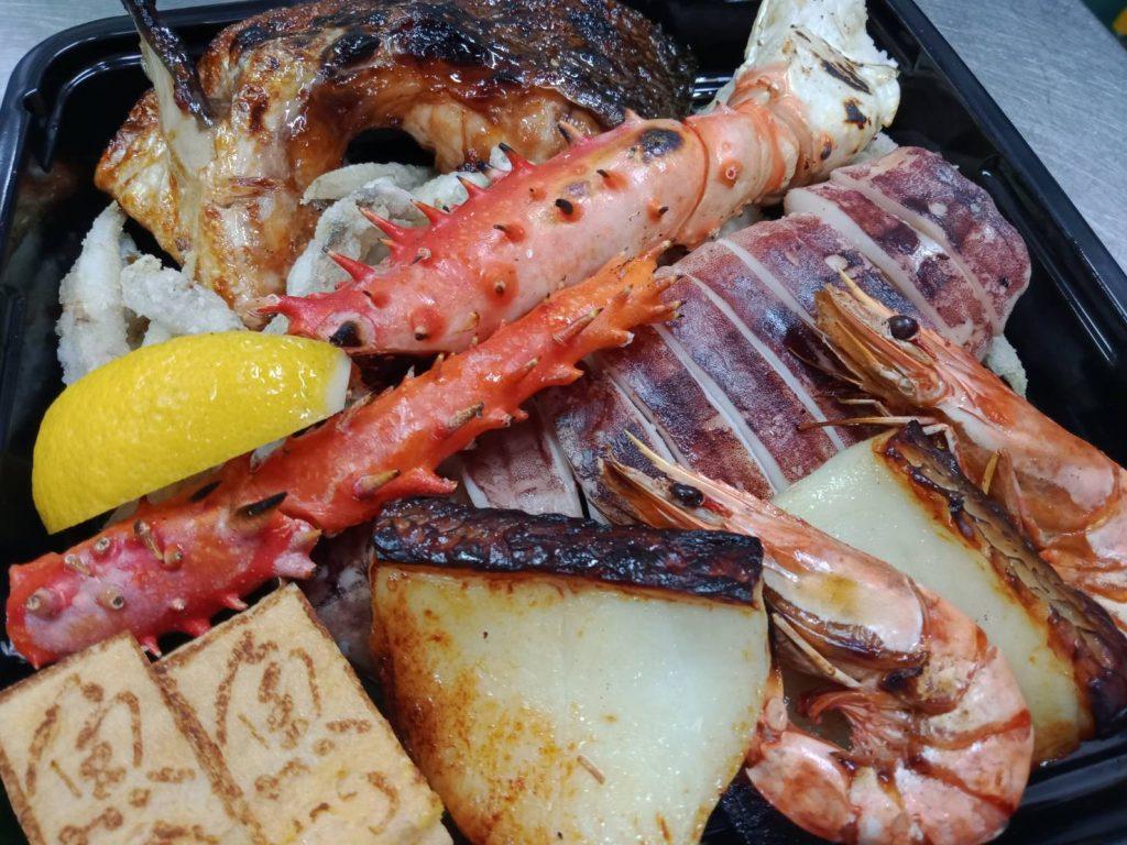 SAKANAYA Premium Seafood Platter シーフードプラッター (Suitable for 2 people) $120.00